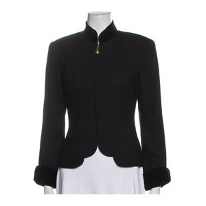 CHRISTIAN DIOR Vintage Wool Evening Jacket